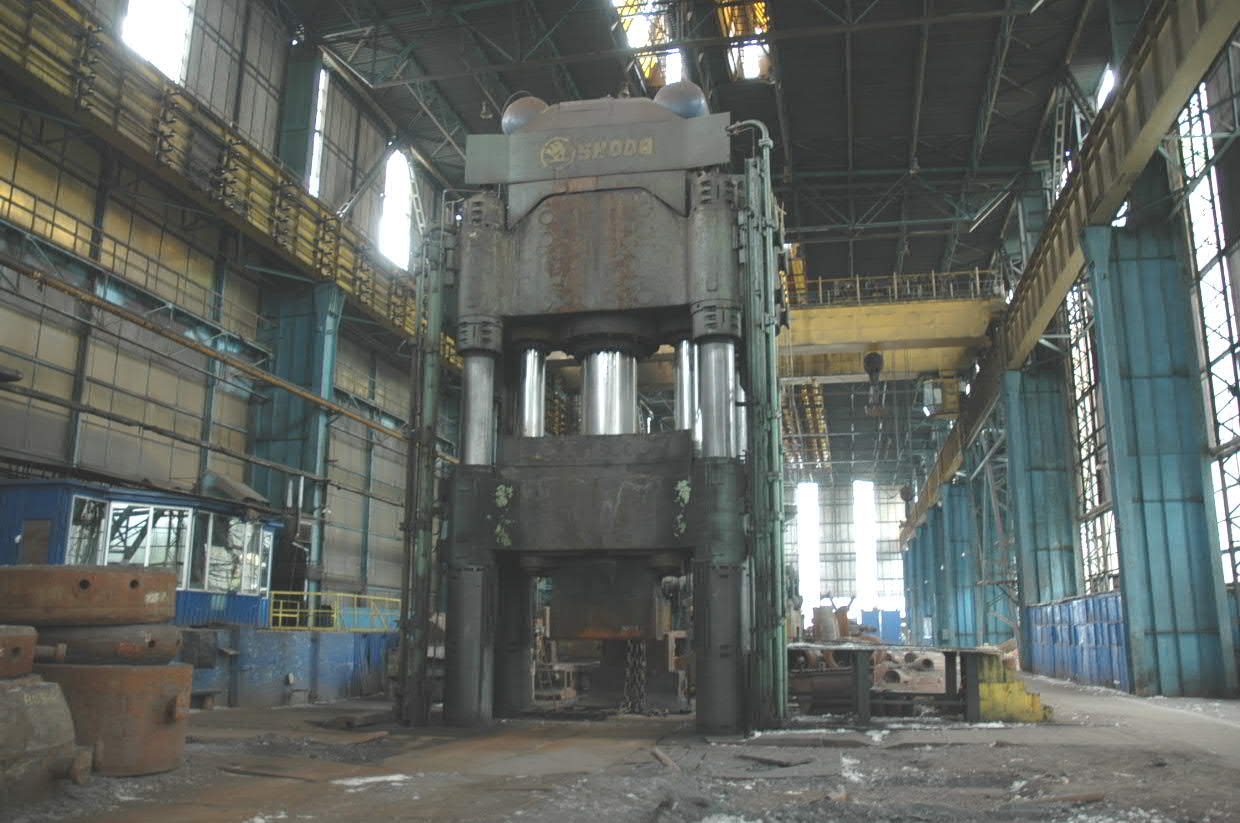Skoda 6000 Ton Open Die Forging Press Ckv6000