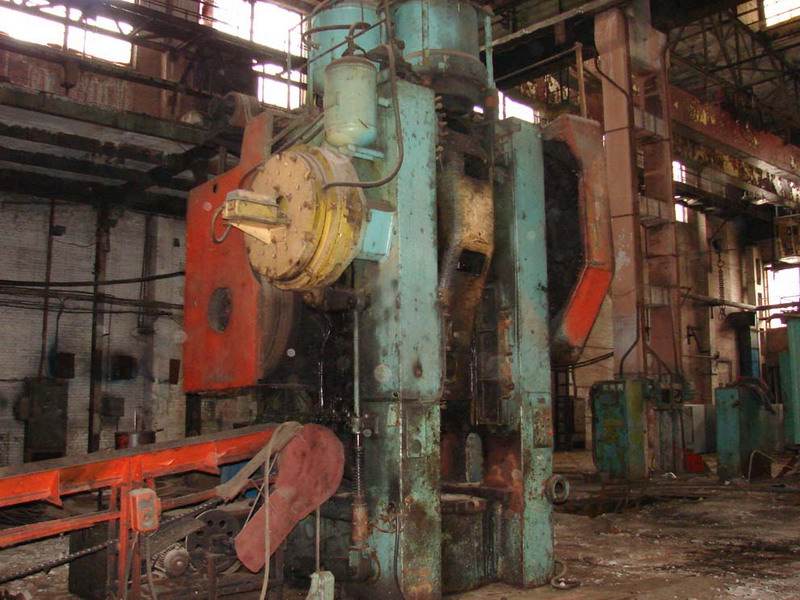 Voronezh 1000 ton Hot Stamping Press